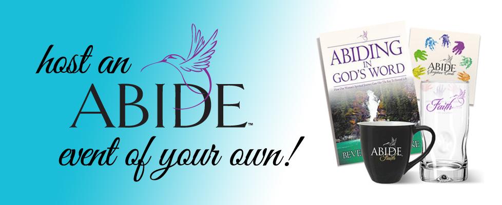 host an abide event
