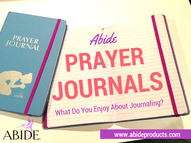 Abide Prayer Journals Are Here!