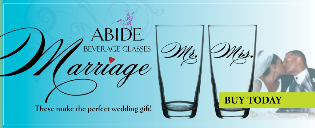 Marriage Beverage Glasses